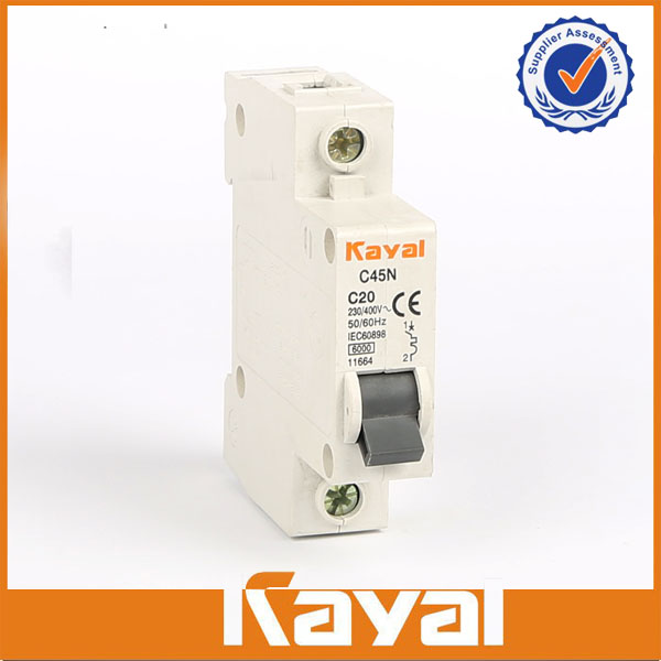 C45N 1 Pole Mini Circuit Breaker
