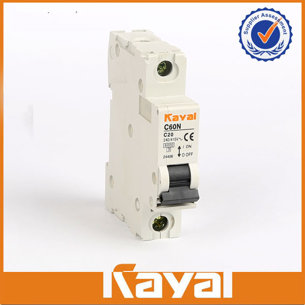 C60N 1 Pole Mini Circuit Breaker