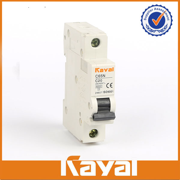 C65N 1 Pole Miniature Circuit Breaker