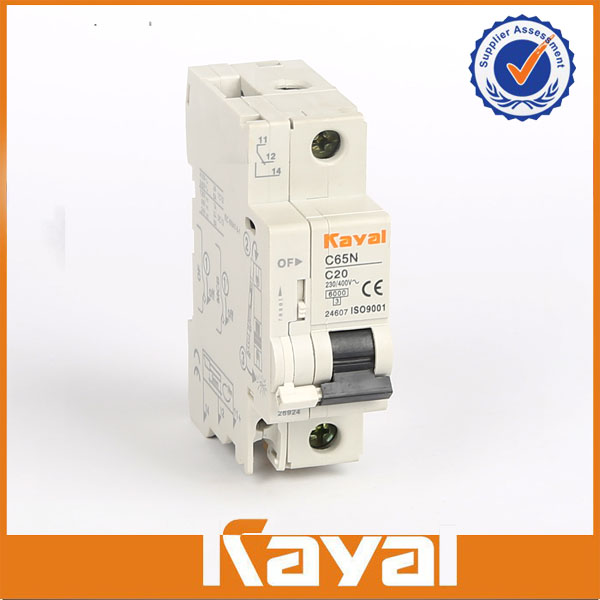 C65N 1 Pole+N Miniature Circuit Breakers