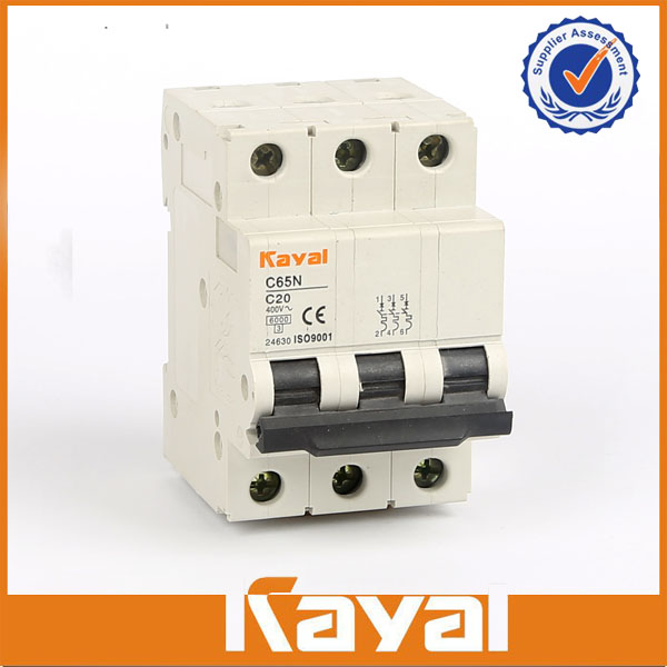 C65N 3 Pole Miniature Circuit Breaker