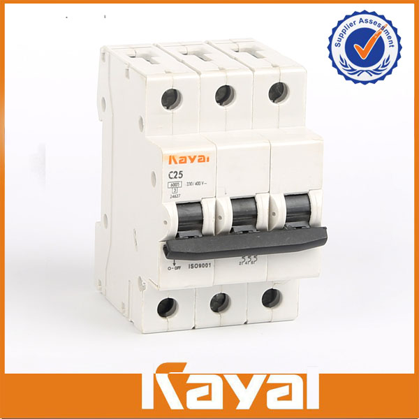 DXTM 3 pole Miniature circuit breaker