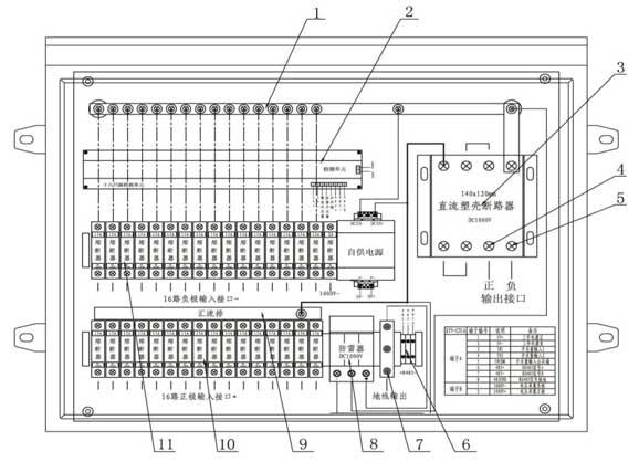 Solar Combiner Schematics Schematic Diagram Data