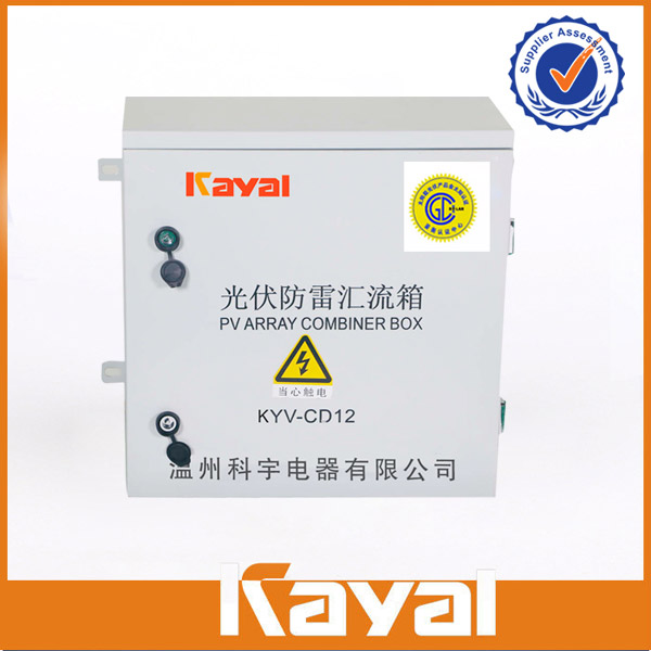 PV Array Lightning Protection Combiner Box KYV-CD12