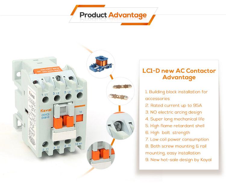 LC1-D18 AC Contactor - China Kangyu Electrical
