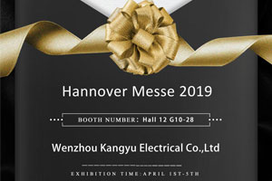 Exhibition:HANNOVER MESSE 2019